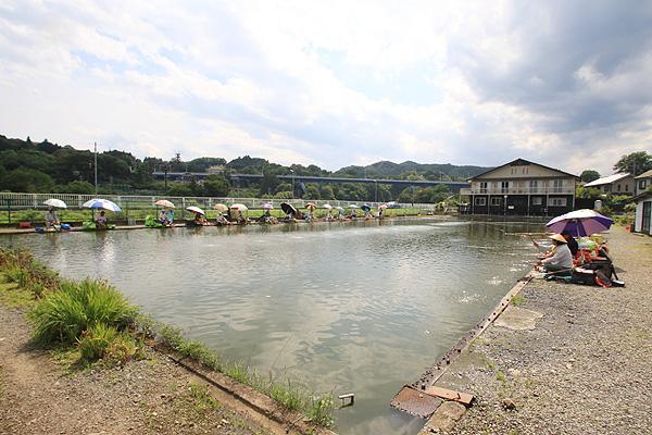 秋川フィッシングセンター山田大橋からすぐ写真