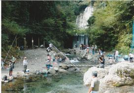 有間渓谷観光つり場写真