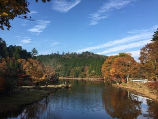 段戸湖画像