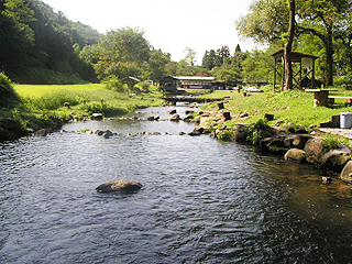 発知渓流つりセンター画像
