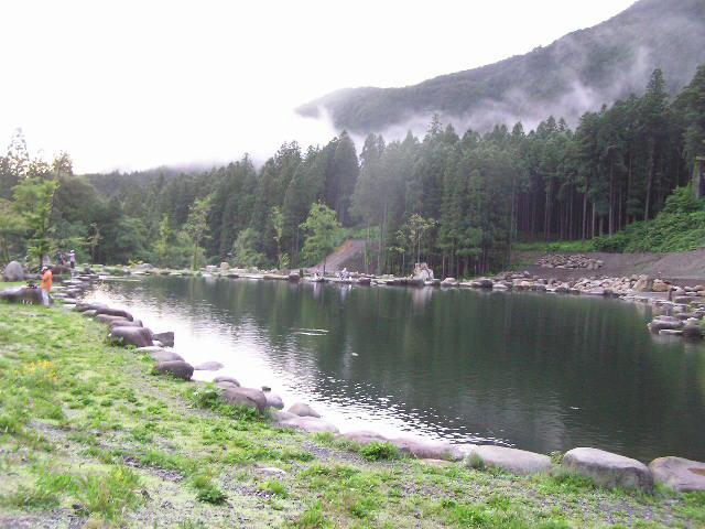 アウトドアヴィレッジ発光路の森1号池写真