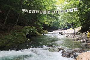 トラウトオン!入川上流はルアー・フライ写真