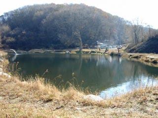 奥久慈フィッシングエリア石堀湖(いしぼっこ) 画像