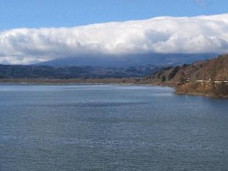 釜房湖画像