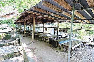 神川町矢納フィッシングパークBBQは要予約写真