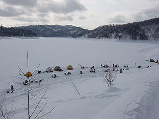桂沢湖画像