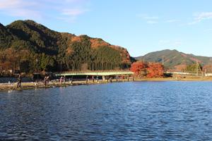 レイクウッドリゾート秋の景色写真