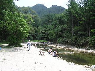 三依渓流釣り場画像