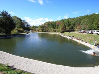 瑞浪フィッシングパーク1号池写真