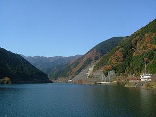 名栗湖画像