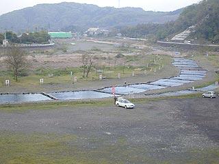 中津川マス釣場画像