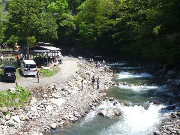 奈良子釣りセンター画像