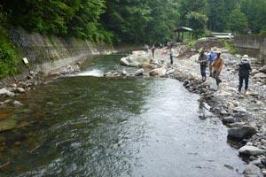 奈良子釣りセンターストリームエリア写真