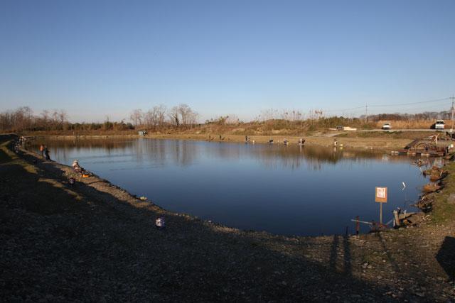 なら山沼漁場北池全図写真