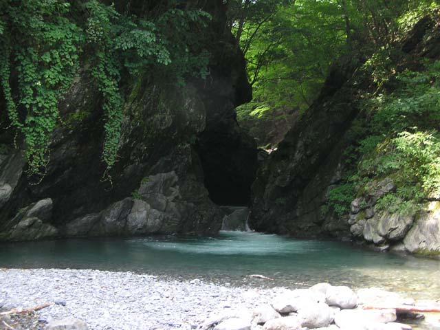 日原渓流釣り場画像