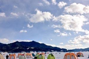糠平湖写真