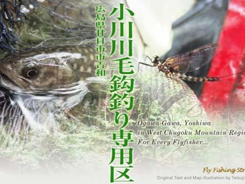 小川川毛鉤釣り専用区 画像