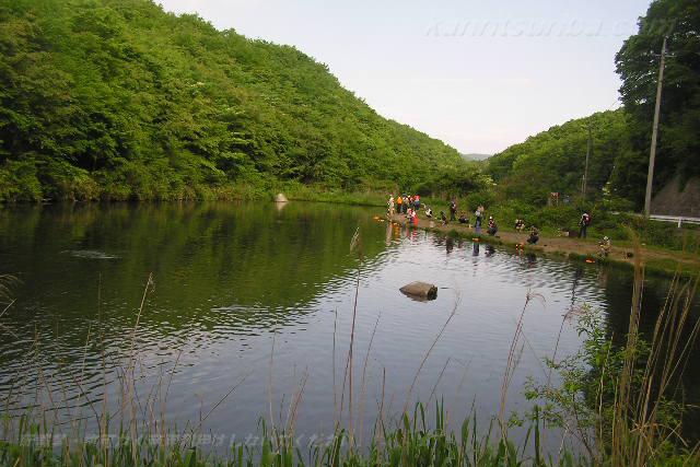 高萩ふれあいの里フィッシングエリア4号池写真