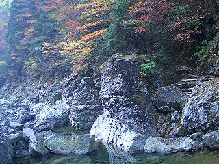 天川村管理釣り場画像
