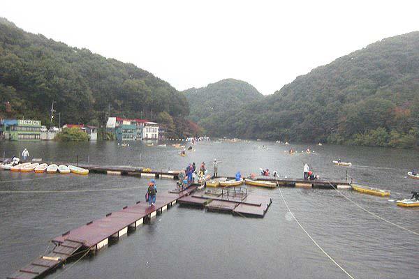 円良田湖写真