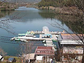 津風呂湖・わかさぎ釣場画像