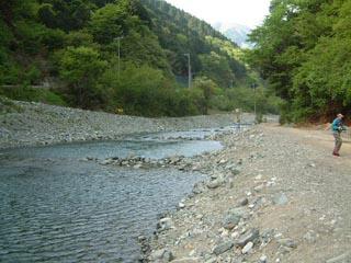 うらたんざわ渓流釣場画像