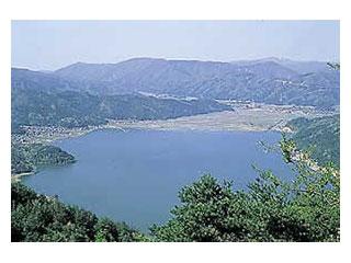余呉湖・わかさぎ釣場画像