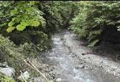 ようらく渓流釣り場写真