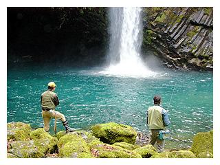 浄蓮の滝 天城国際常設鱒釣場画像