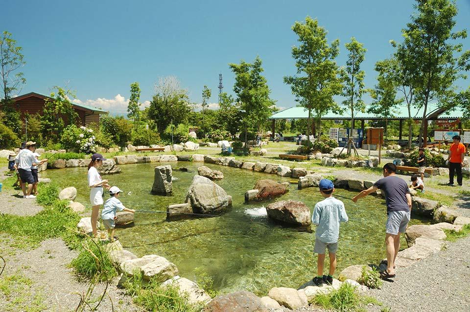 フィッシングパーク高島の泉写真