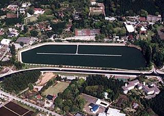 東山湖フィッシングエリア画像
