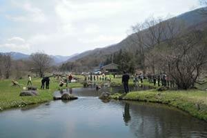 小田養魚場写真