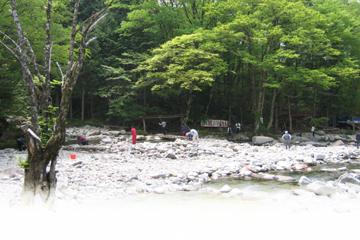 小黒川釣場写真