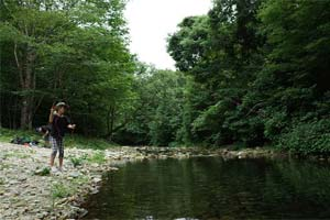 作並渓流つり堀