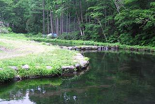 北志賀フィッシングパーク清流の里釣り池写真