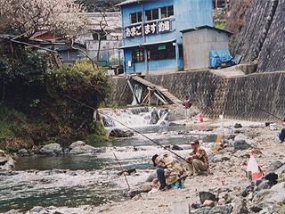 水無瀬川・尺代アマゴ・マス釣り場画像