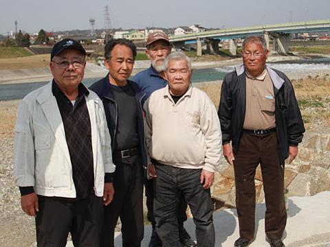 吉野川ルアー・フライ管理釣り場監視員の皆さん写真