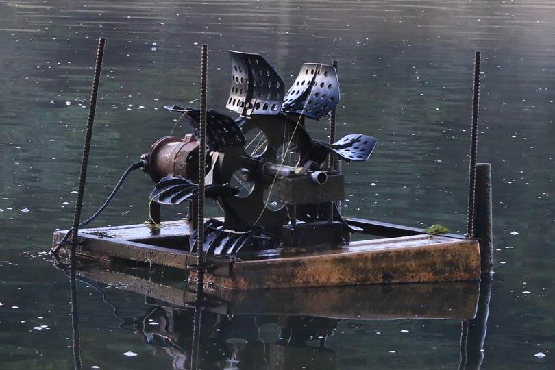 攪拌機 管理釣り場