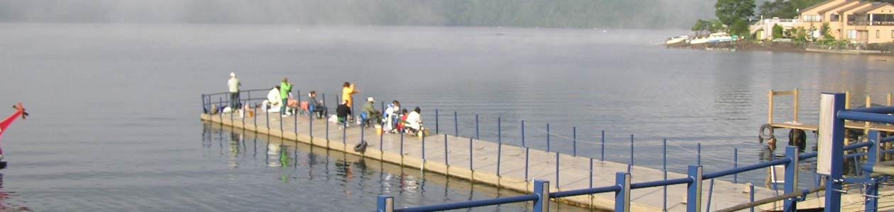 中禅寺湖 わかさぎ